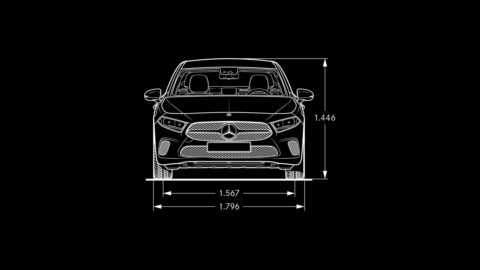 Mercedes Benz A Class Saloon Specifications