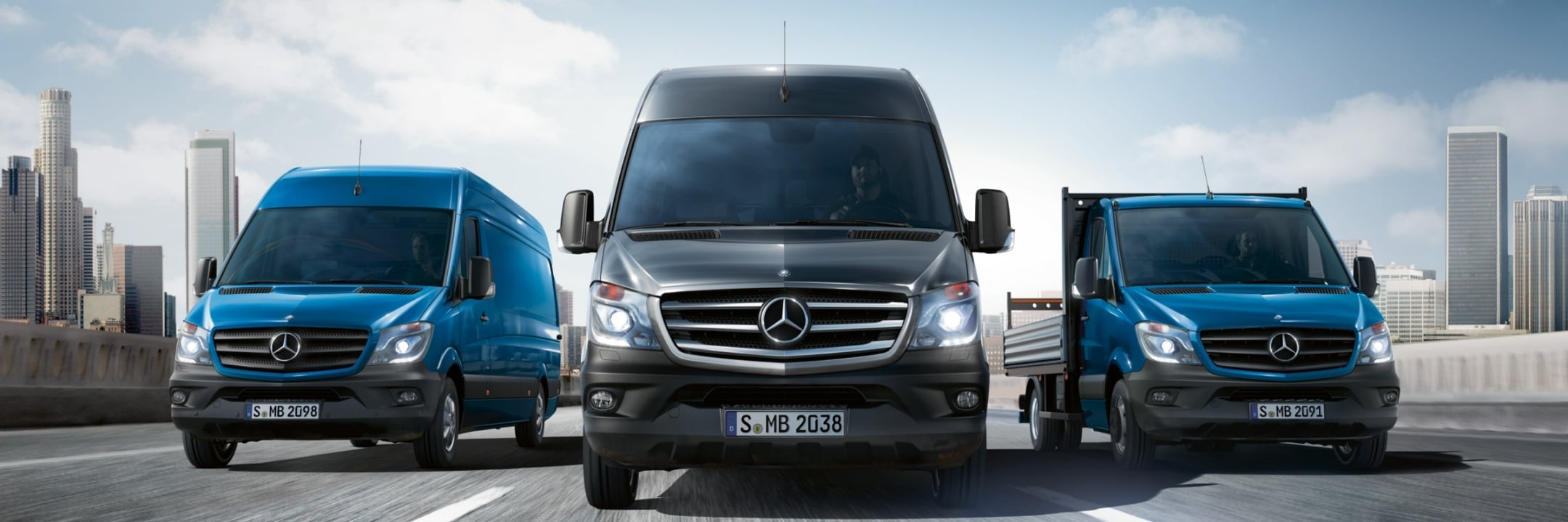 Mercedes-Benz, Vans, fleet solutions, Industry solutions