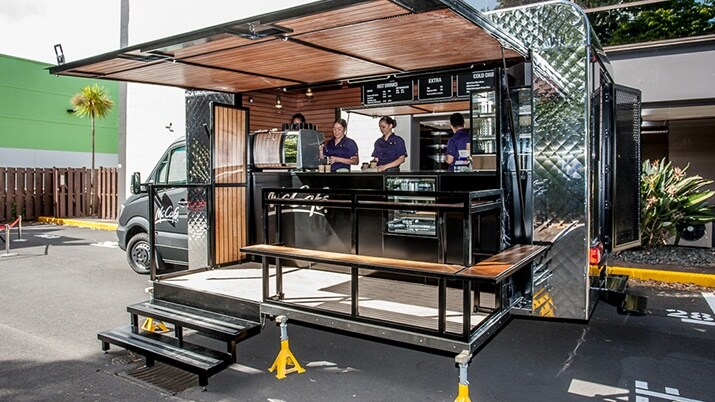 Vans, Love your work, McCafe goes espresso, Sprinter, Sprinter cab chassis, 516 Long wheelbase