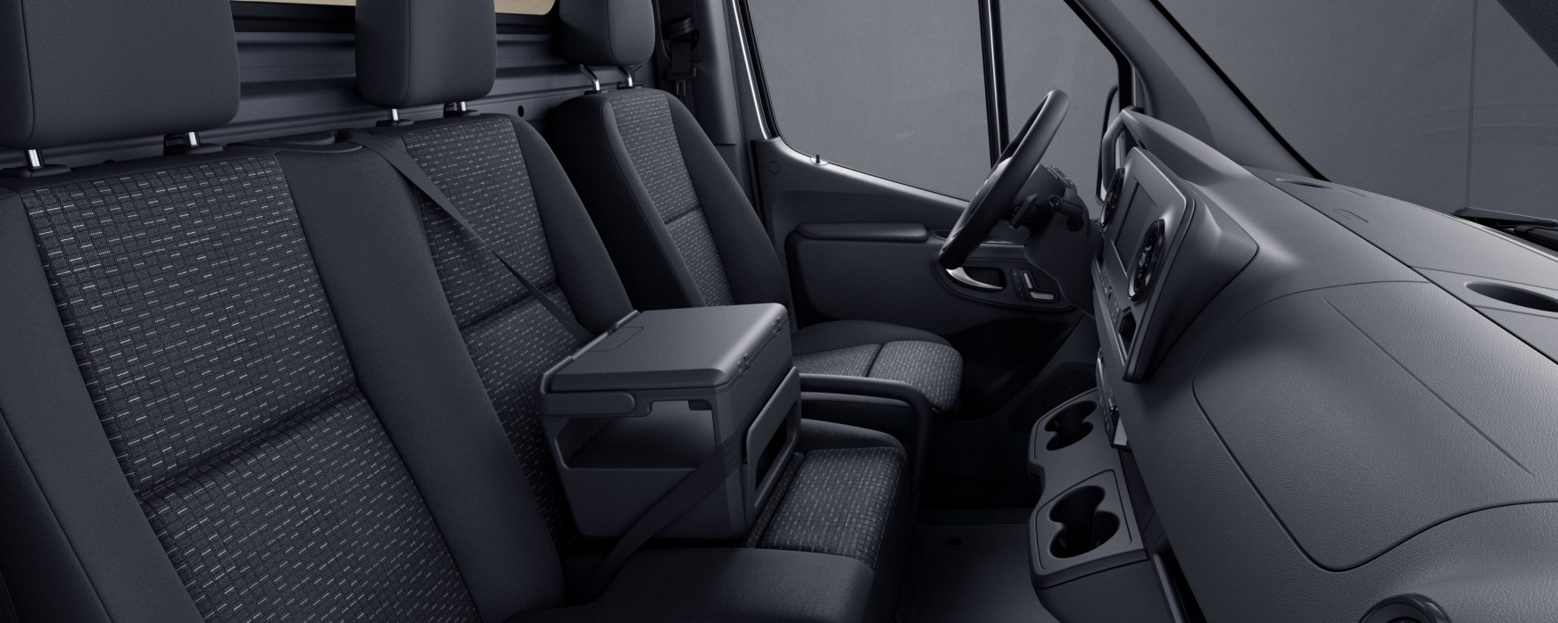 Sprinter Cab Chassis, caluma black fabric