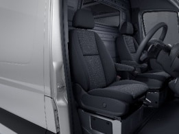 Sprinter Cab Chassis, ergonomic lumbar support