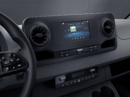 Sprinter Cab Chassis, MBUX, multimedia system