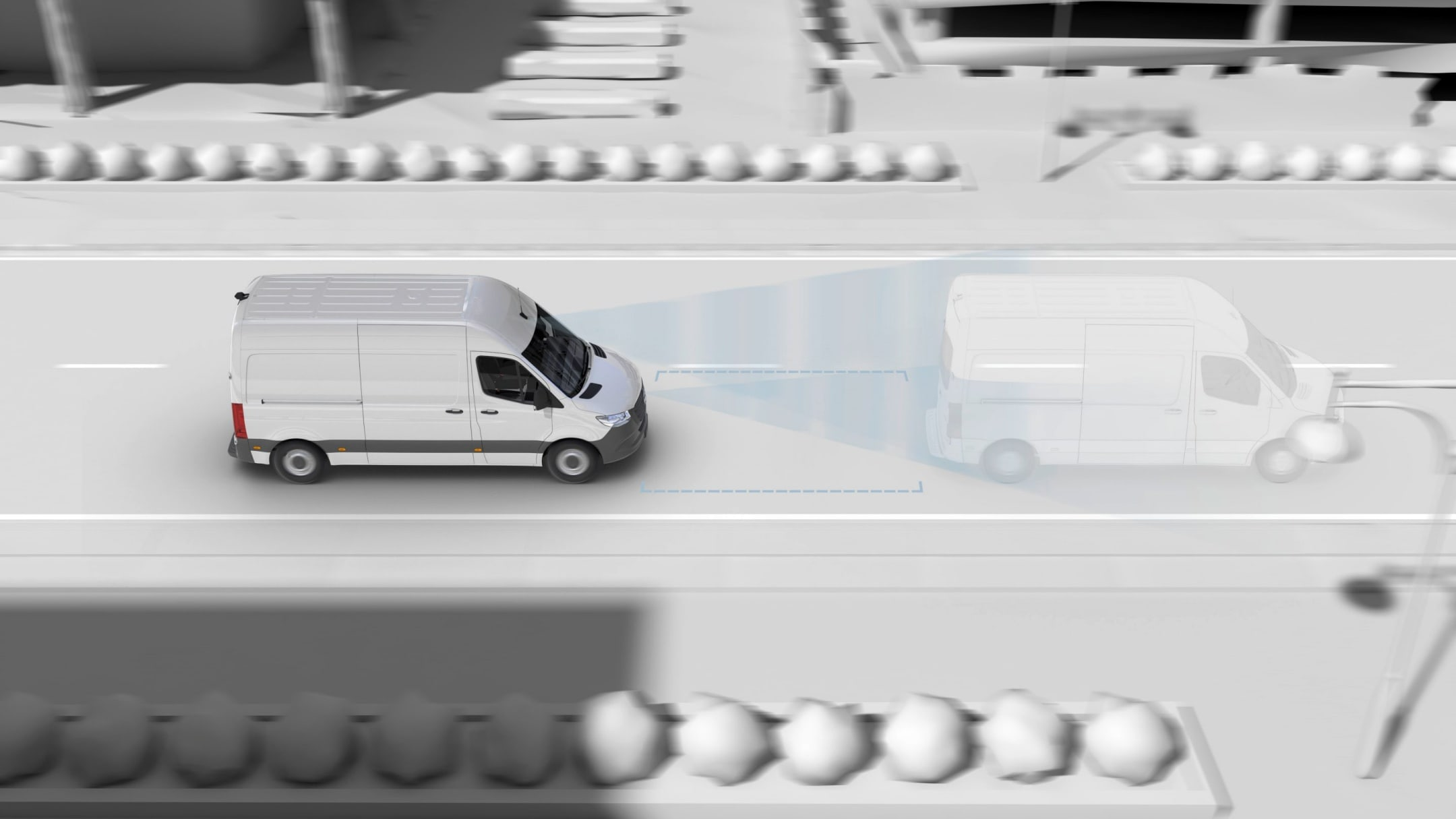 Sprinter Cab Chassis, active brake assist