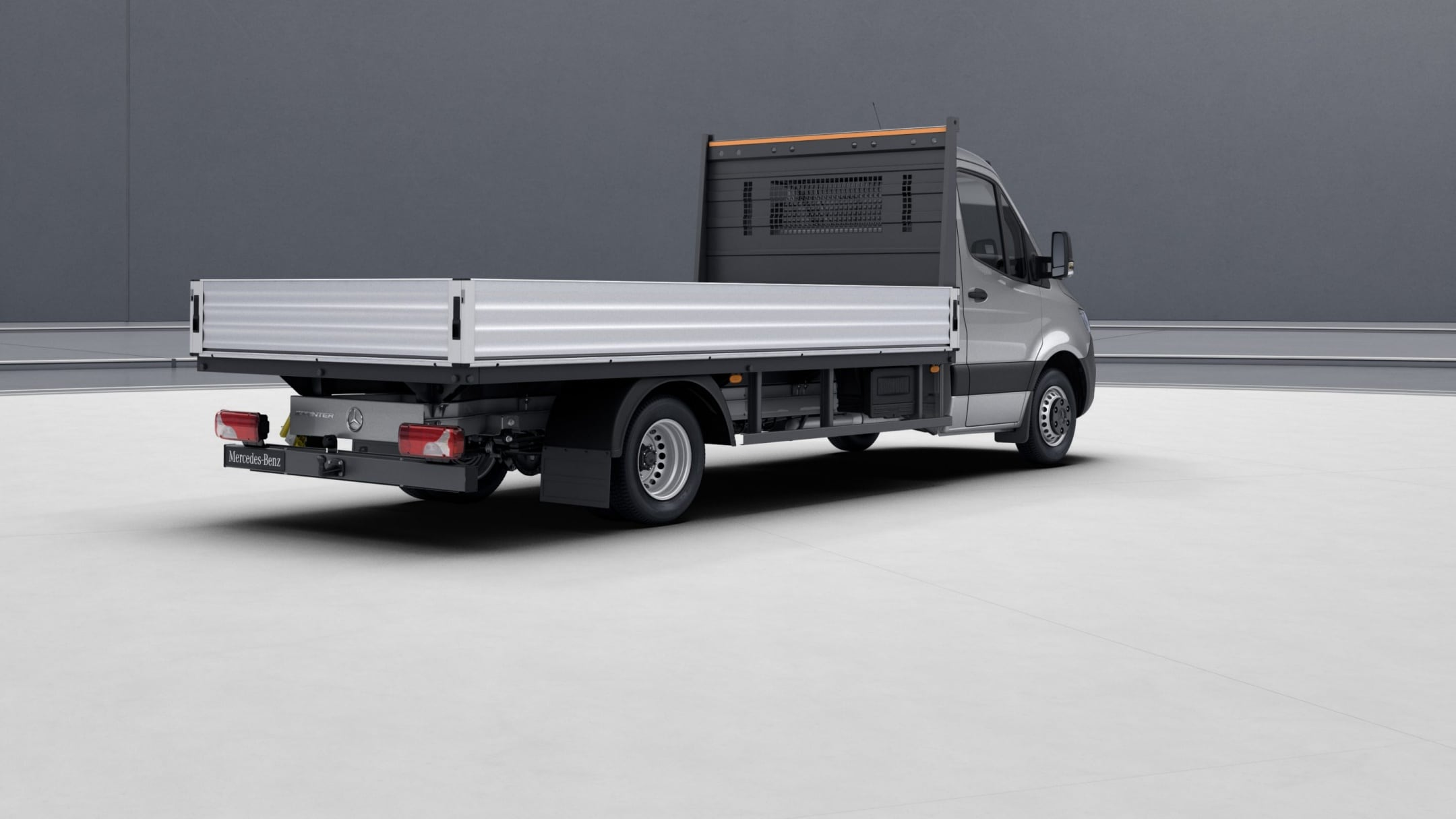 Sprinter Cab Chassis, ladder rack