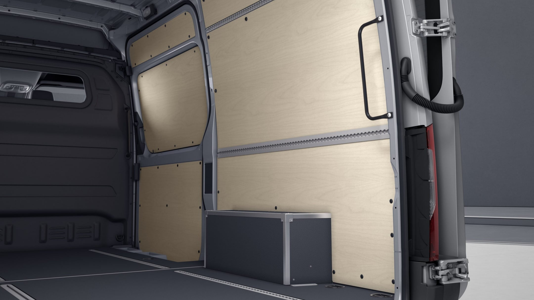 Sprinter Panel Van, wood panelling