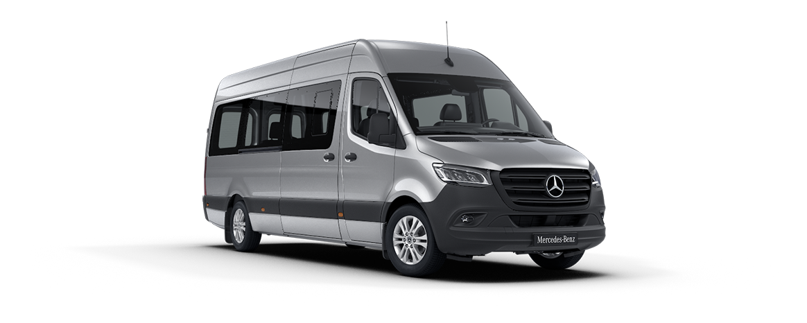 Sprinter minibus tourer, features, metallic paints, iridium silver