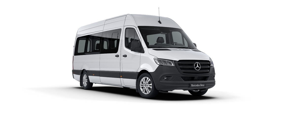 Sprinter Minibus tourer, Features, Arctic white