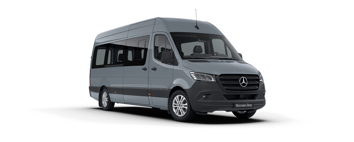 Sprinter minibus tourer, features, Blue-grey, lead-free
