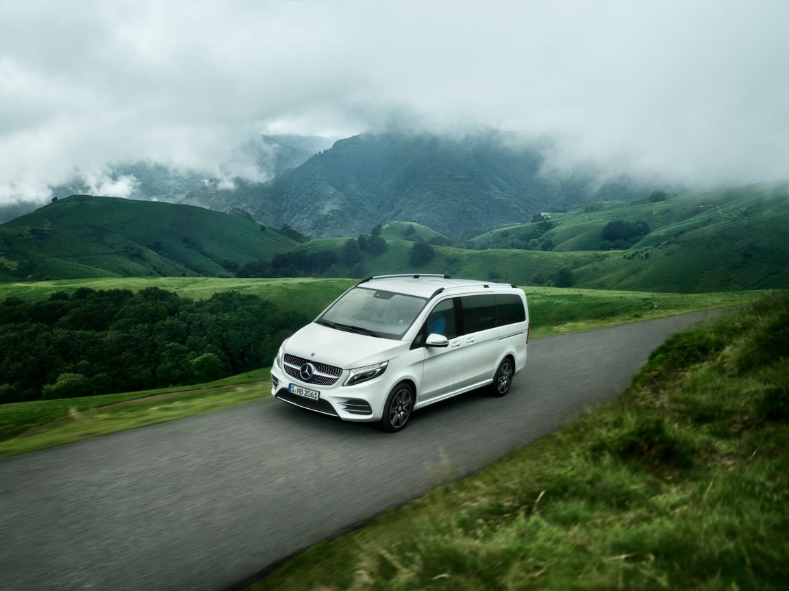 V-Class, Concepts, The road comes alive, Adventure