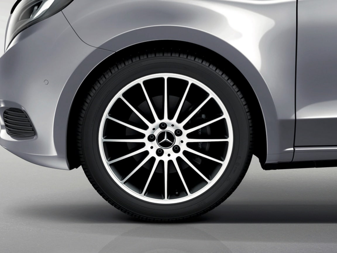 V-Class, Features, Accessories, 16 Spoke wheel