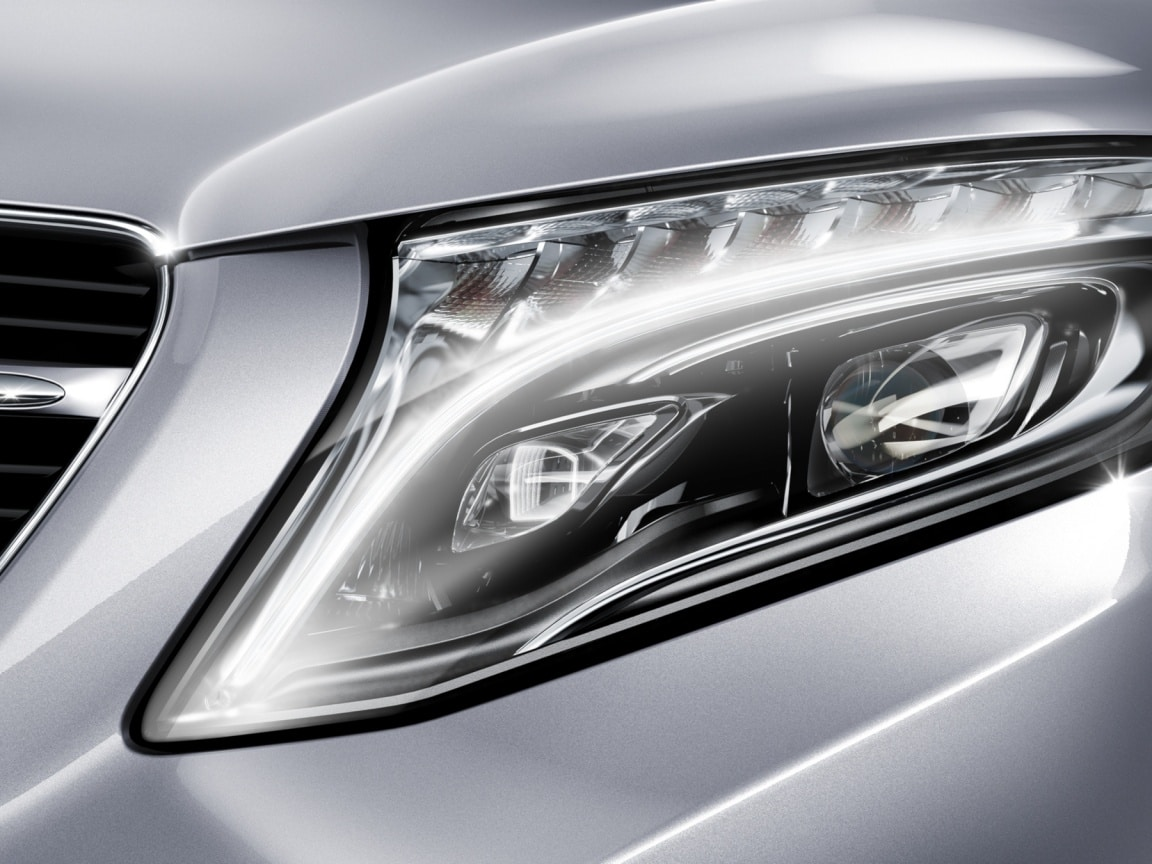 V-Class, Intelligent Drive Technology, LED light system, Safety